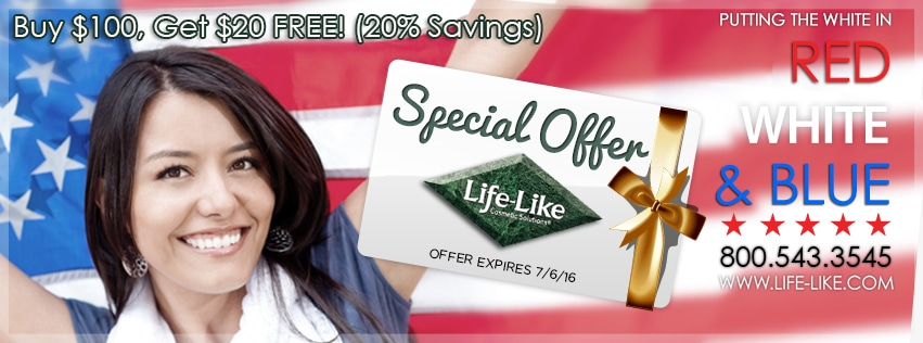 Teeth Whitening Special Savings