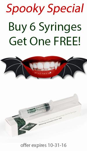 Tooth Whitening Syringe