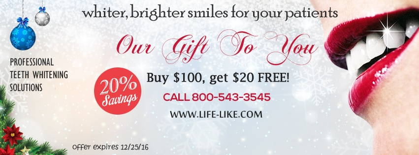 Teeth whitening products for dentists