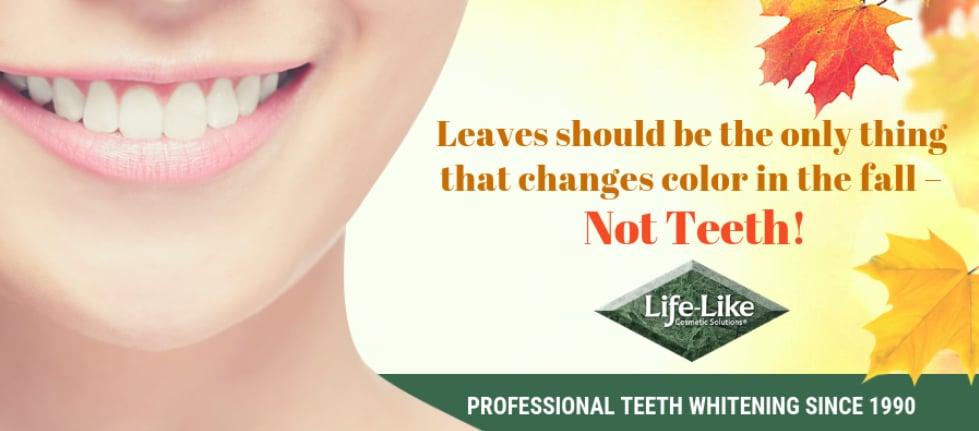 teeth whitening company newsletter