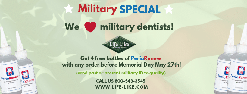 Are you a military dentist? It's your time to shine!